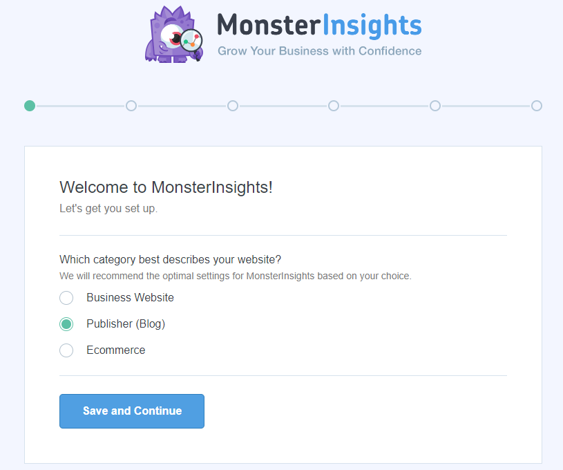 monster insights step one