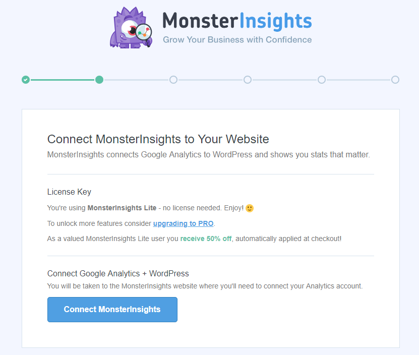 monster insights step two